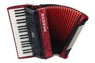 Hohner - Bravo III 96 Piano Accordion - Red