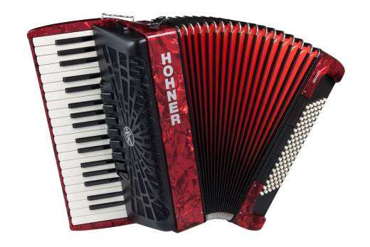 Bravo III 96 Piano Accordion - Red