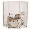 Gibraltar - Acrylic Drum Shield, 5-Panel