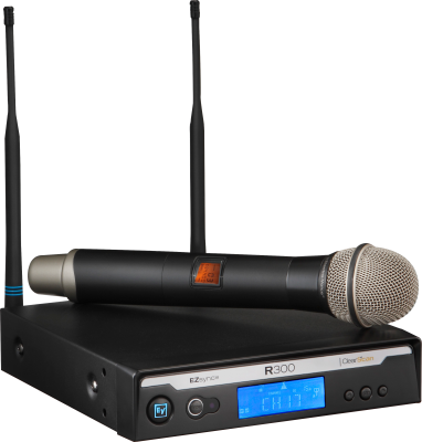 R300-HD Wireless Handheld System w/PL22 Dynamic Microphone, Case