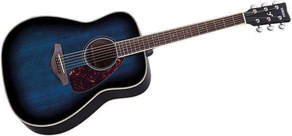 yamaha fg720 acoustic guitar blue long mcquade musical instruments. Black Bedroom Furniture Sets. Home Design Ideas