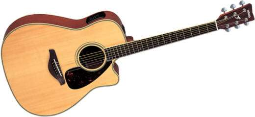 Yamaha Fgx Sca Acoustic Electric Guitar Review