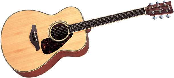 yamaha fs720s folk size acoustic guitar long mcquade musical instruments. Black Bedroom Furniture Sets. Home Design Ideas