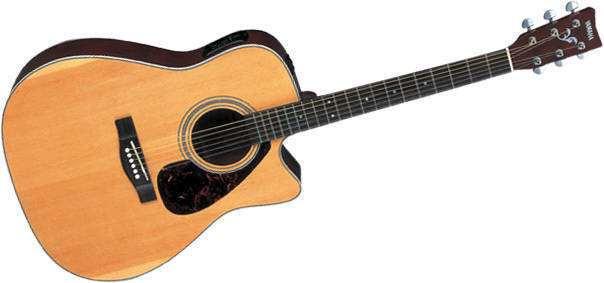 yamaha fx370c acoustic electric guitar long mcquade musical instruments. Black Bedroom Furniture Sets. Home Design Ideas