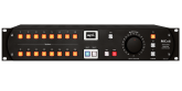 SPL - MC16 16-Channel Mastering Monitor Controller w/120V Audio Rail - Black