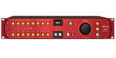 SPL - MC16 16-Channel Mastering Monitor Controller w/120V Audio Rail - Red