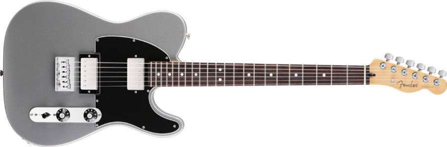 Fender Telecaster Hh >> Fender Blacktop Tele Hh Rosewood Neck In Silver Long Mcquade