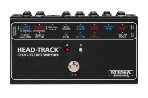 Head-Track Head and FX Loop Switcher