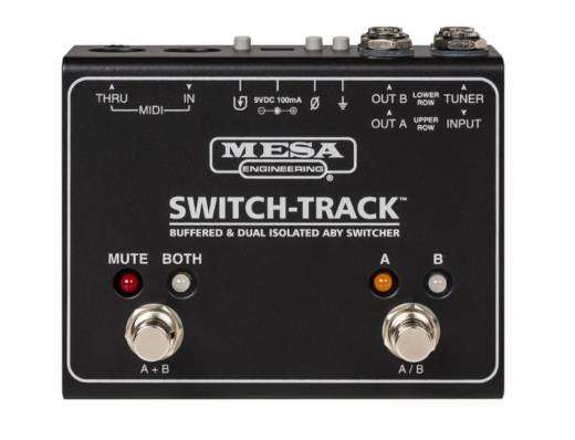 Swtich-Track Buffered and Isolated ABY Switcher