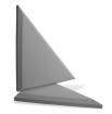 Primacoustic - Apex Accent Triangle Panel - 24, Grey (2-Pack)
