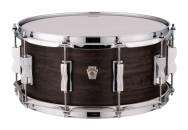 Ludwig Drums - 6.5x14 5 Ply Maple Snare in Aged Ebony