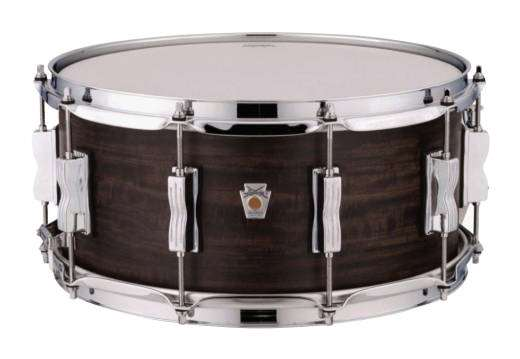 6.5x14'' 5 Ply Maple Snare in Aged Ebony
