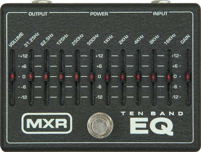 MXR M108 - Ten Band Graphic EQ - Long & McQuade Musical ...