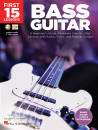 Hal Leonard - First 15 Lessons: Bass Guitar - Liebman - Book/Media Online