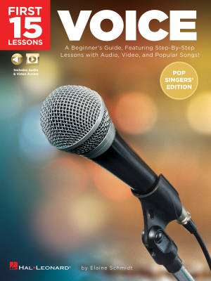 First 15 Lessons: Voice (Pop Singers' Edition) - Schmidt - Book/Media Online