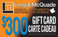 Long & McQuade - $300 Gift Card