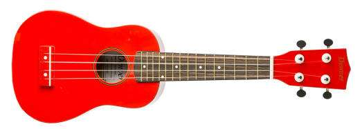 Soprano Ukulele - Red