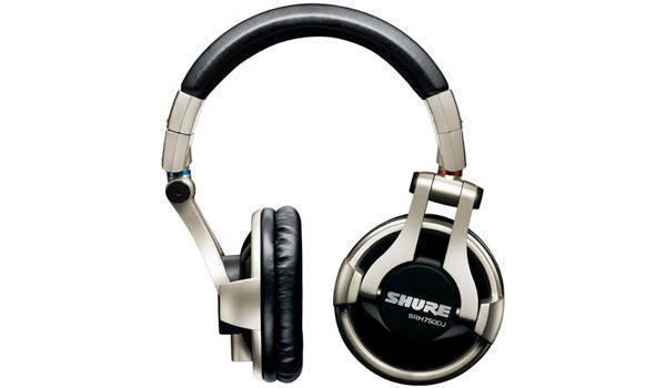 eaec6050bd2 Shure SRH750DJ - Pro DJ Headphones - Long & McQuade Musical Instruments