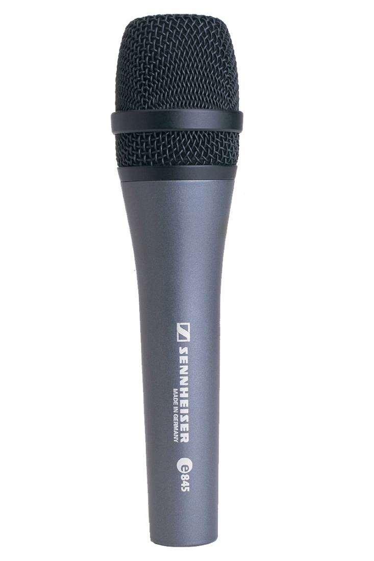 sennheiser e845 evolution dynamic super cardioid microphone long mcquade musical instruments. Black Bedroom Furniture Sets. Home Design Ideas