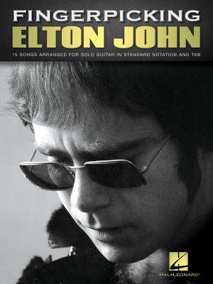 Fingerpicking Elton John - Guitar TAB - Book