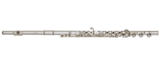 Q1 Silver Plated Body Flute with B-Foot