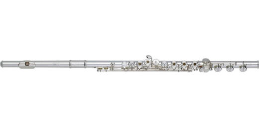 Q2 Sterling Silver Flute with Silver Headjoint, Offset G