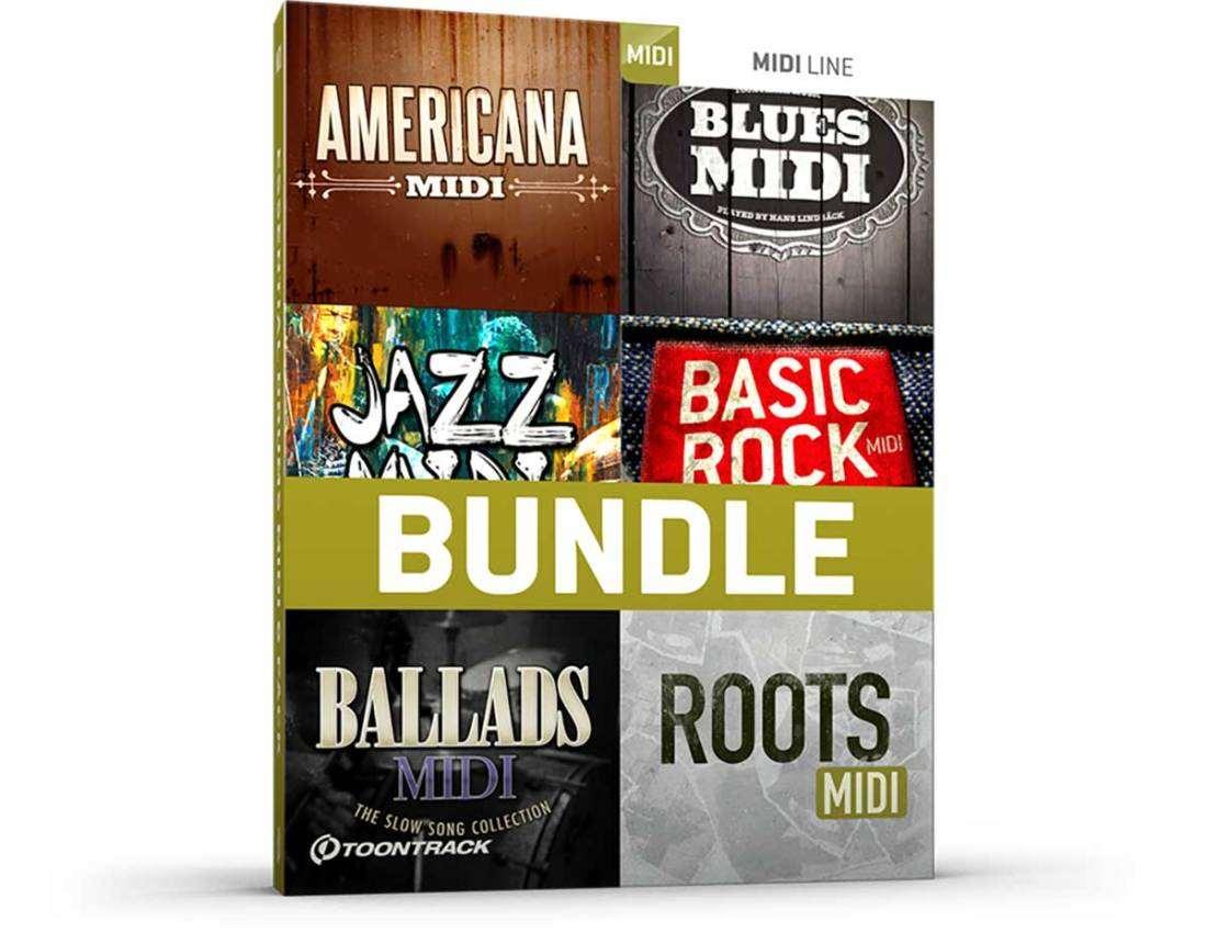 toontrack essential drums midi 6 pack download long mcquade musical instruments. Black Bedroom Furniture Sets. Home Design Ideas