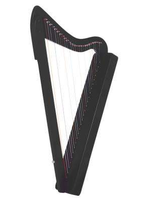 Harpsicle 26-string Harp - Black