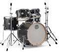Mapex - Storm 5-Piece Fusion Drum Set  - Ebony Blue Grain