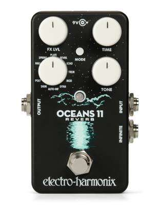 Oceans 11 Reverb Effects Pedal