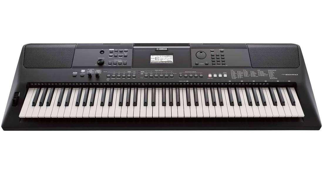 Yamaha - PSR-EW410 76-Key Portable Keyboard