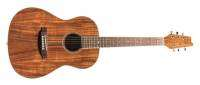 Denver - Parlor Size Acoustic Guitar - Koa