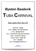 Cimarron Music Press - Tuba Carnival (Solo Parts Collection) - Baadsvik - Tuba - Book