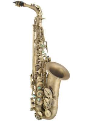 PMXA-67R DK - Alto Sax Rolled Tone Hole - Unlacquered