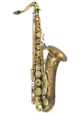 PMXT-66RUL - Rolled Tone Hole Tenor Sax - Unlacquered