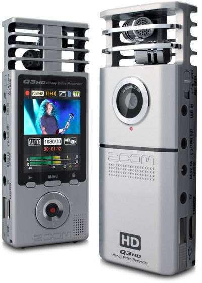 Zoom Q3hd - Handy Video Recorder