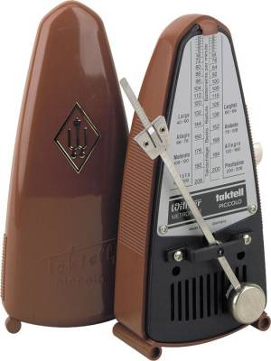 Taktell Piccolo Metronome in Brown