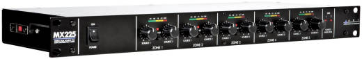 Stereo Dual-Source 5-Zone Distribution Mixer