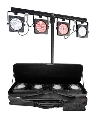 4BAR USB Complete Wash Lighting System