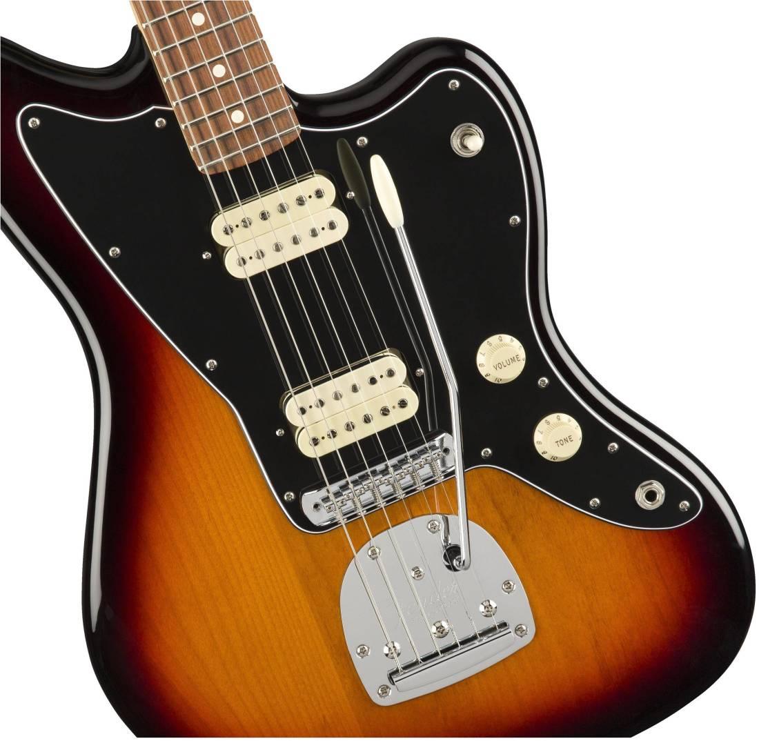 Fender Player Jazzmaster Pao Ferro 3 Tone Sunburst Long Custom Jazz Bass Mod Master Volume And Balance Control