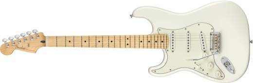 Player Stratocaster Left Handed Maple - Polar White