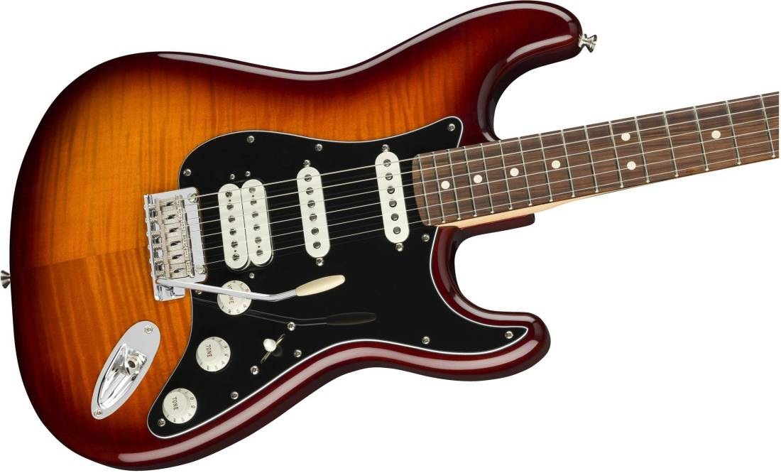 fender player stratocaster hss plustop pau ferro tobacco sunburst long mcquade musical. Black Bedroom Furniture Sets. Home Design Ideas