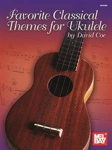 Favorite Classical Themes for Ukulele - Coe - Book
