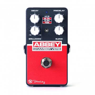 Abbey Chamber Verb - Vintage Reverb Pedal