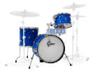 Gretsch Drums - Catalina Club Jazz 3-Piece Shell Pack 18/14/12 - Blue Satin Flame