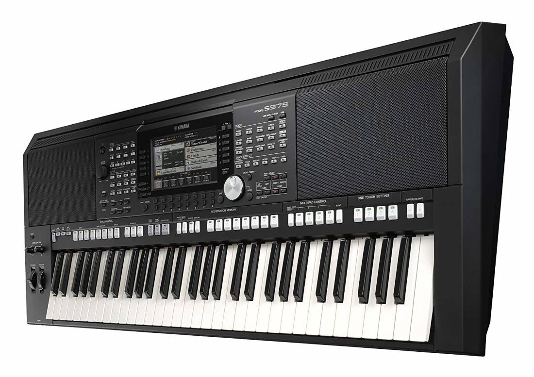 yamaha psr s975 61 key arranger workstation long. Black Bedroom Furniture Sets. Home Design Ideas