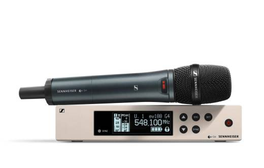 EW 100 G4-845-S Wireless Vocal Set