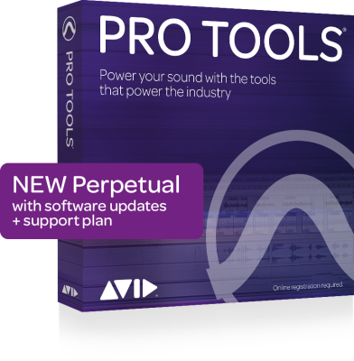 Pro Tools Perpetual License with 1-Year Updates and Support Plan - Download