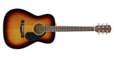 Fender - CC-60S Classic Design Concert Acoustic Guitar - 3-Colour Sunburst