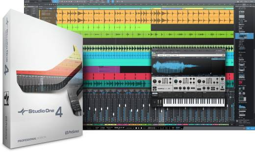 Studio One 4 Professional Upgrade from Artist, all versions - Download